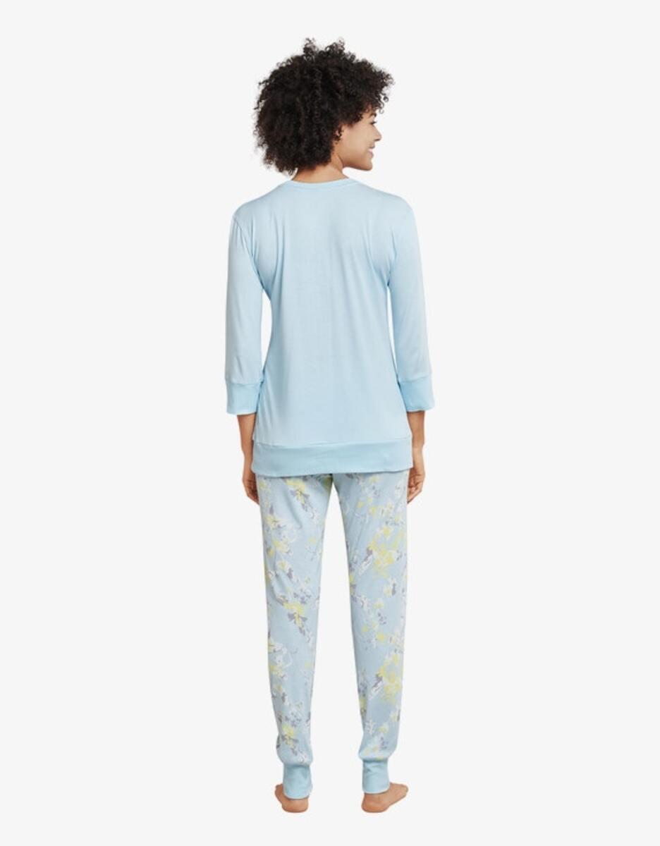 Bild 2 von Schiesser - Pyjama mit Ärmeln in 3/4 Länge