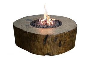 Elementi Gas Feuerstelle Aragaz aus Eco Stone