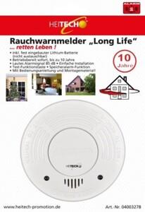 Heitech Rauchwarnmelder ''Long life''