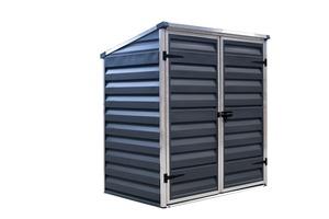 Palram Mülltonnenbox und Aufbewahrungsschrank Voyager Schwarz