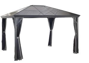Sojag Aluminium Pavillon Verona 10x14 inkl. Bluetooth Lautsprecher