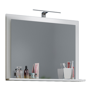 VCM Spiegel Lendas mit Ablage 60 cm Weiß