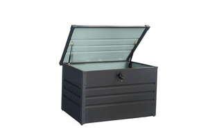Solax-Sunshine Metall-Aufbewahrungsbox, ca. 100 x 61 x 62 cm - Anthrazit
