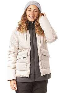 O'Neill Short Azurite - Snowboardjacke für Damen - Grau