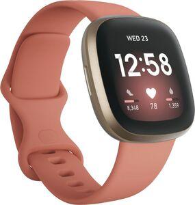 Fitbit Versa 3, Aluminium, altrosanes Armband