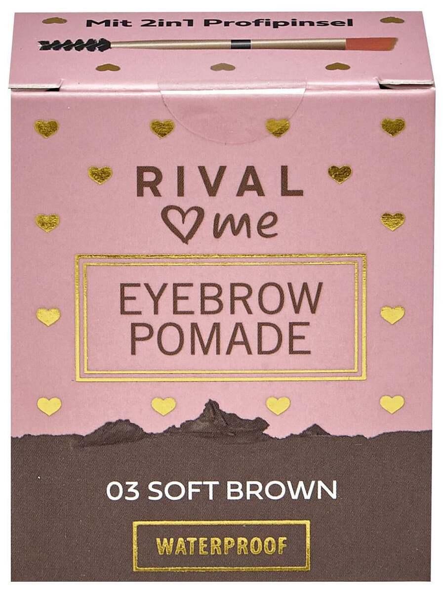 Bild 1 von RIVAL loves me Eyebrow Pomade 03 soft brown