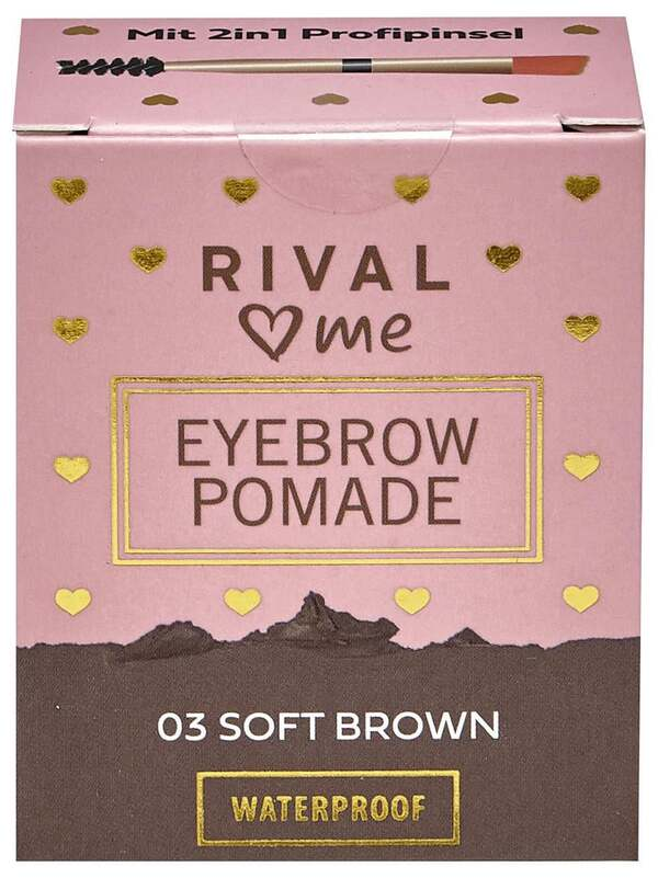 RIVAL loves me Eyebrow Pomade 03 soft brown