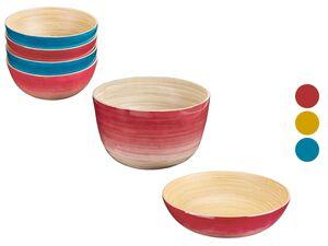 ERNESTO® Salatschüssel/ Schale, aus Bambus