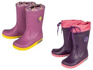 LUPILU® Kleinkinder Regenstiefel Mädchen, Blink-Effekt