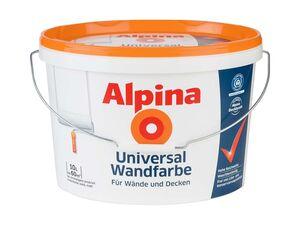 ALPINA Weiß Universal Wandfarbe 10 l
