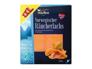Nautica ASC Norwegischer Räucherlachs XXL-Packung
