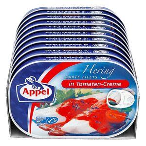 Appel Heringsfilet Tomate 200 g, 10er Pack