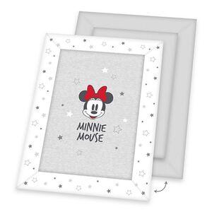 Disney's Minnie Mouse Krabbeldecke, grau/weiß