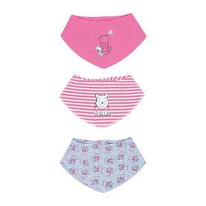 Baby Lizenz Lätzchen, 3er Pack, Winnie the Pooh für Mädchen, Gr. 86/92