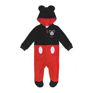Baby Lizenz Fleeceoverall für Jungen, Mickey Mouse, Gr. 62/68