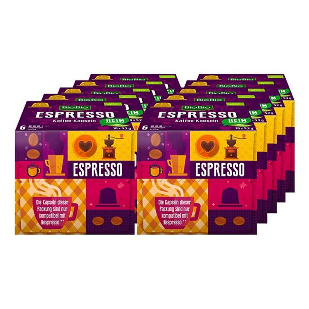 Bild 1 von BioBio Espresso 52 g, 10er Pack