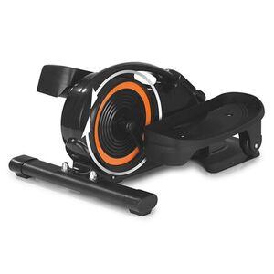 MAXXMEE Ellipsentrainer schwarz mit Trainingscomputer