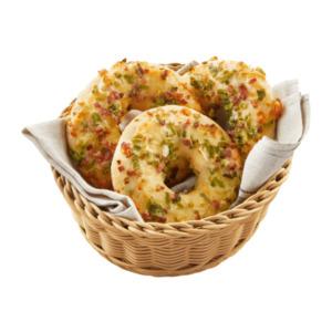 MEIN BESTES     Pizza-Donut-Flammkuchen
