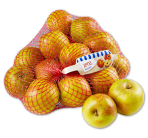 Deutsche rote Äpfel