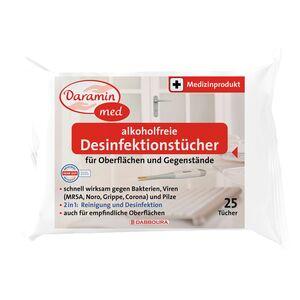 Daramin med Desinfektionstücher