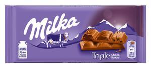 Milka Triple Choco Kakao 90 g