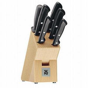 WMF Messerblock 7-teilig , 1874706030 , Holz , Buche , Echtholz , 0037310771