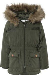 NMFMARLIS JACKET - Jacken - weiblich dunkelgrün Gr. 98 Mädchen Kleinkinder