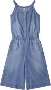 Kinder Jeansjumpsuit blau Gr. 92/98 Mädchen Kleinkinder