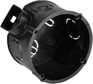 UP-Schalterdose ,  45mm, schwarz, 20 Stück