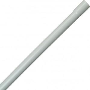 Kopp Stangenrohr M32 ,  2 m, starr, mit Muffe, grau
