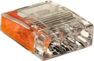 Compact Steckklemmen Dosenklemmen, 100 St., 3 Leiter, 0,5 - 2,5 mm²