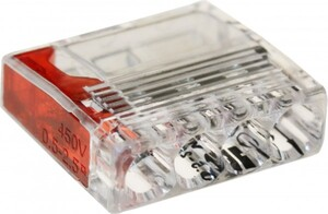 Steckklemmen Anzahl Leiter: 4, 0,5 - 2,5 mm², 100 Stück