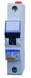 Gewiss Leitungsschutzschalter, B, 10 A B10A, 1-polig
