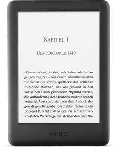 "Kindle 6"" WiFi (2019) (8GB) E-Book Reader schwarz"