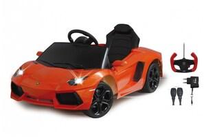 Ride-on Lamborghini Aventador orange