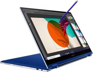 "Galaxy Book Flex (NP930QCG-K01DE) 33,78 cm (13,3"") 2 in 1 Convertible-Notebook royal blue"