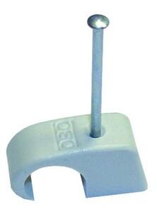 OBO Nagelschellen, 10 - 14 mm ,  mit 40 mm Stahlnagel