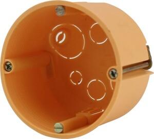 Hohlwand-Schalterdose ,  47 mm, orange, 25 Stück