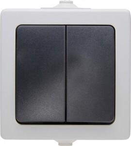 Kopp Feuchtraum Serienschalten Natuic ,  grau