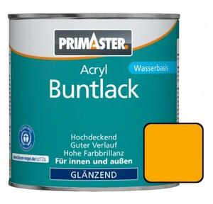 Primaster Acryl Buntlack RAL 1003 ,  375 ml, signalgelb, glänzend