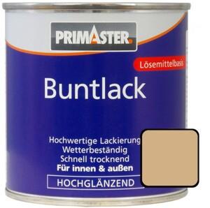 Primaster Buntlack ,  375 ml, beige, hochglänzend