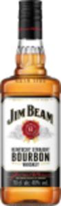 Bacardi Carta Blanca  oder Jim Beam Bourbon Whiskey