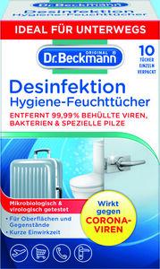 Dr. Beckmann Hygiene-Tücher 3 für 2