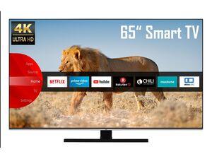 JVC LT-65VU8055 65 Zoll Fernseher (Smart TV, Prime Video / Netflix, 4K UHD mit Dolby Vision HDR / HDR 10, Bluetooth, Triple-Tuner, HD+)