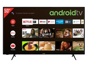 TELEFUNKEN XU50AJ600 50 Zoll Fernseher (Android Smart TV, Google Play Store & Google Assistant, 4K UHD mit Dolby Vision HDR / HDR 10, Bluetooth, Triple-Tuner)