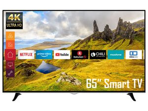 TELEFUNKEN D65U400N1CW 65 Zoll Fernseher (Smart TV, Prime Video / Netflix, 4K UHD mit Dolby Vision HDR / HDR 10, Triple-Tuner)