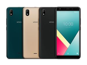 Wiko Smartphone Y61 inkl. Soft Case & Schutzglas
