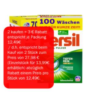 Persil Waschmittel Pulver, Gel oder Discs