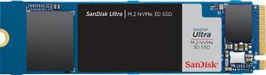 SANDISK Ultra 3D NVMe SSD, 1 TB, Interner Speicher, intern