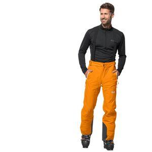 Jack Wolfskin BIG White Pants Men Skihose Männer 46 orange rusty orange